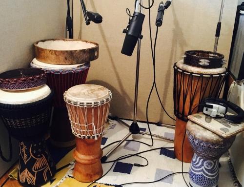 Recording Percussion for Arabesque Album
